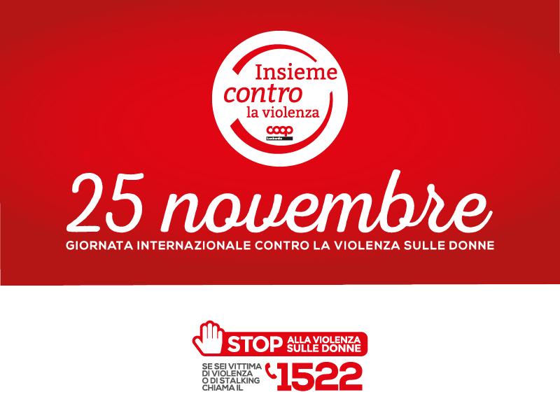 25 novembre 2020: insieme contro la violenza
